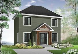 Transitional Style House - house plan w4719 detail from drummondhouseplans com
