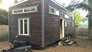 modern functional tiny house with office space u0026 entertainment