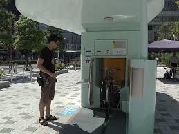 ecocycle underground robot parking garages for bikes in japan ecocycle underground robot parking garages for bikes in japan business insider