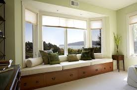 Window With Seat - bay window with window seat home design