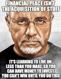 Dave Ramsey Meme - image tagged in dave ramsey imgflip