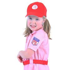 Wilfred Costume Aagpbl Kids Rockford Peaches Uniform