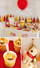 Winnie The Pooh Home Decor by Classic Modern Winnie The Pooh Baby Shower Dessert Table