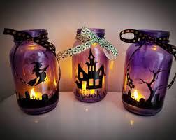 halloween vase etsy