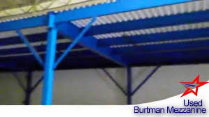 burtman low profile structural mezzanine youtube