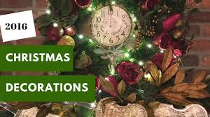 christmas decorations 2016 wreath and garland above the