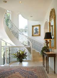 miami rod iron railing staircase mediterranean with railings gray