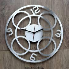 pendule de cuisine design grande horloge moderne design d grand design moderne
