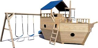 small boat with swingset outside pinterest kid boats and plays