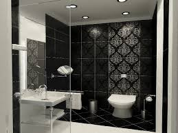 black white and silver bathroom ideas innovative black and white small bathroom designs gallery ideas 7083