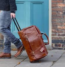 leather travel bags images Luxury mens wheeled leather travel bag 39 dino l 39 by maxwell scott jpg
