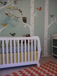 diy nursery with modern and vintage elements project nursery
