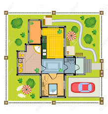 housing plans interesting floor plans with building costs with affordable housing plan color plan country house on a white background with housing plans