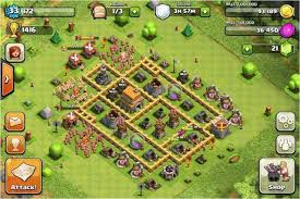 coc map layout th6 clash of clans builder best town hall 6 layouts heavy com