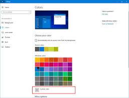 what u0027s new in the windows 10 creators update settings app