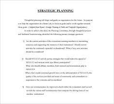 strategic plan template strategic plan template strategic plan