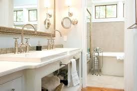 Mirror In A Bathroom Mirrors In Bathroommodern Light Fixture With Industrial Mirror In