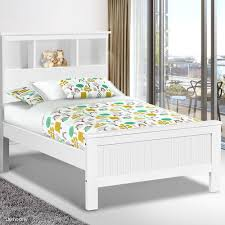 Single Wood Bed Frame Belmore King Single Wooden Bedframe With Storage Shelf U2013 Handy