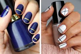 Nail Art Designs To Do At Home Easiest Nail Art Designs How You Can Do It At Home Pictures
