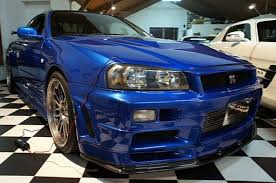 nissan skyline fast and furious interior paul walker u0027s gt r from u0027fast and furious u0027 for sale for 1 3m