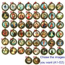 catholic necklace catholic michael archangel oval medjugorje baby