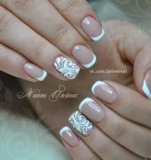 французский маникюр свадебный френч u2013 1 577 фотографий nail