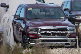 land rover cummins 2019 ram 1500 caught by the camera without its camo autoguide