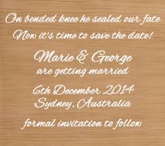 Funny Save The Date Save The Date