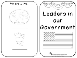 leaders of our government booklet teacherlingo com