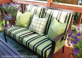 how to make cushions for outdoor furniture walmart outdoor patio