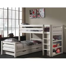 Corner Bunk Beds Vipack Pino Bunk Bed Corner White Flash Sale Jellybean Group