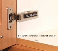 brookhaven cabinetry better kitchens chicago brookhaven cabinetry melamine interior white v2