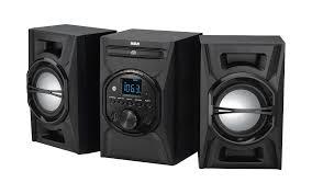 amazon com rca rs3697b cd mini system with bluetooth home audio