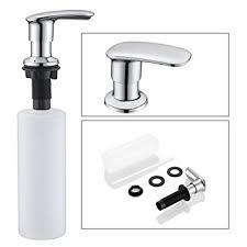 amazon soap dispenser kitchen sink sink soap dispenser wenken stainless steel kitchen sink countertop