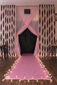 diy fashion show runway for birthday diy
