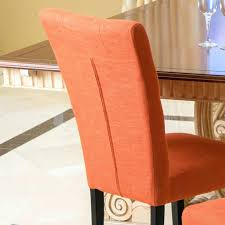 fabric chair covers furniture orange dining chairs awesome fabric chair covers dining