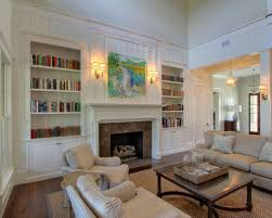 Fireplaces With Bookshelves by Bookshelves Around Fireplace Houzz