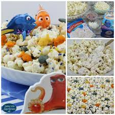 how to make finding dory cake mix popcorn