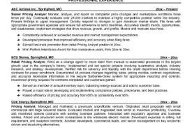 Supply Chain Resume Sample by Supply Chain Resume Samples Sample Professional Military Resume
