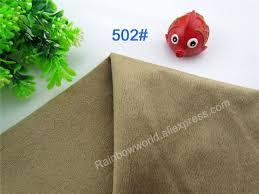 drap canap 502 brun microfibre minky doux velboa tricot tissu cheveux