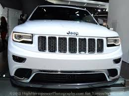 jeep 2014 white the 2014 jeep grand at the 2013 naias debut torque