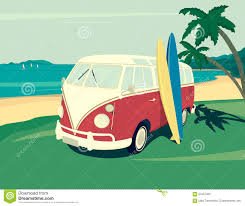 volkswagen van with surfboard clipart surf van stock illustrations u2013 809 surf van stock illustrations