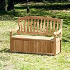outdoor wooden storage bench benches bench outdoor wooden storage