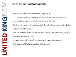 let s discover the uk ppt