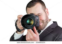 Professional Photographer Portrait Professional Photographer Stock Photo 257611828