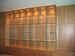 modern glass wall shelves decorative custom home large arafen