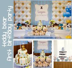1st birthday party themes for boys baby birthday ideas for boy birthday teddy