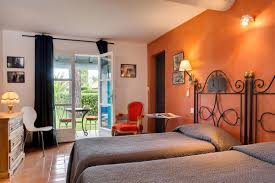 chambre lit jumeaux oustau camarguen chambre chambres hotel 3 étoiles grau du