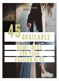 45 available name ideas for your fashion hatch scribe diy