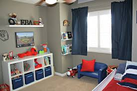 Modern Boys Room by 2 Boys Sports Bedroom The Boys Sports Themed Bedroom I Love The